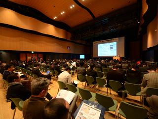 信州大学地域連携フォーラムの会場