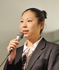 リオ五輪での活躍について語る箱山愛香さん