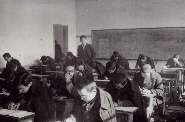 当時の授業風景