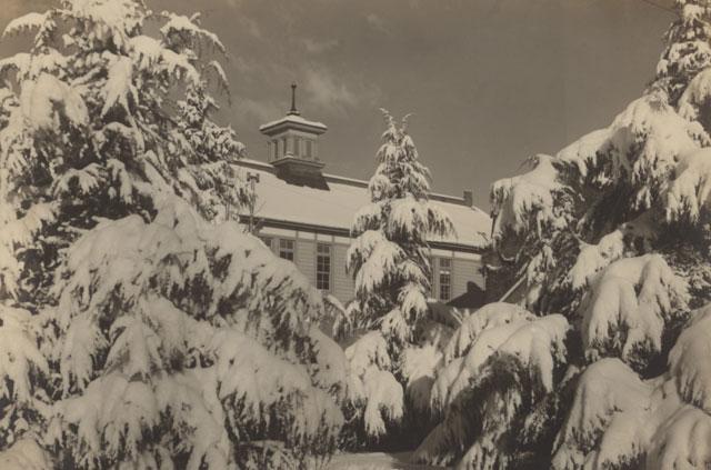 昭和10年代頃の講堂
