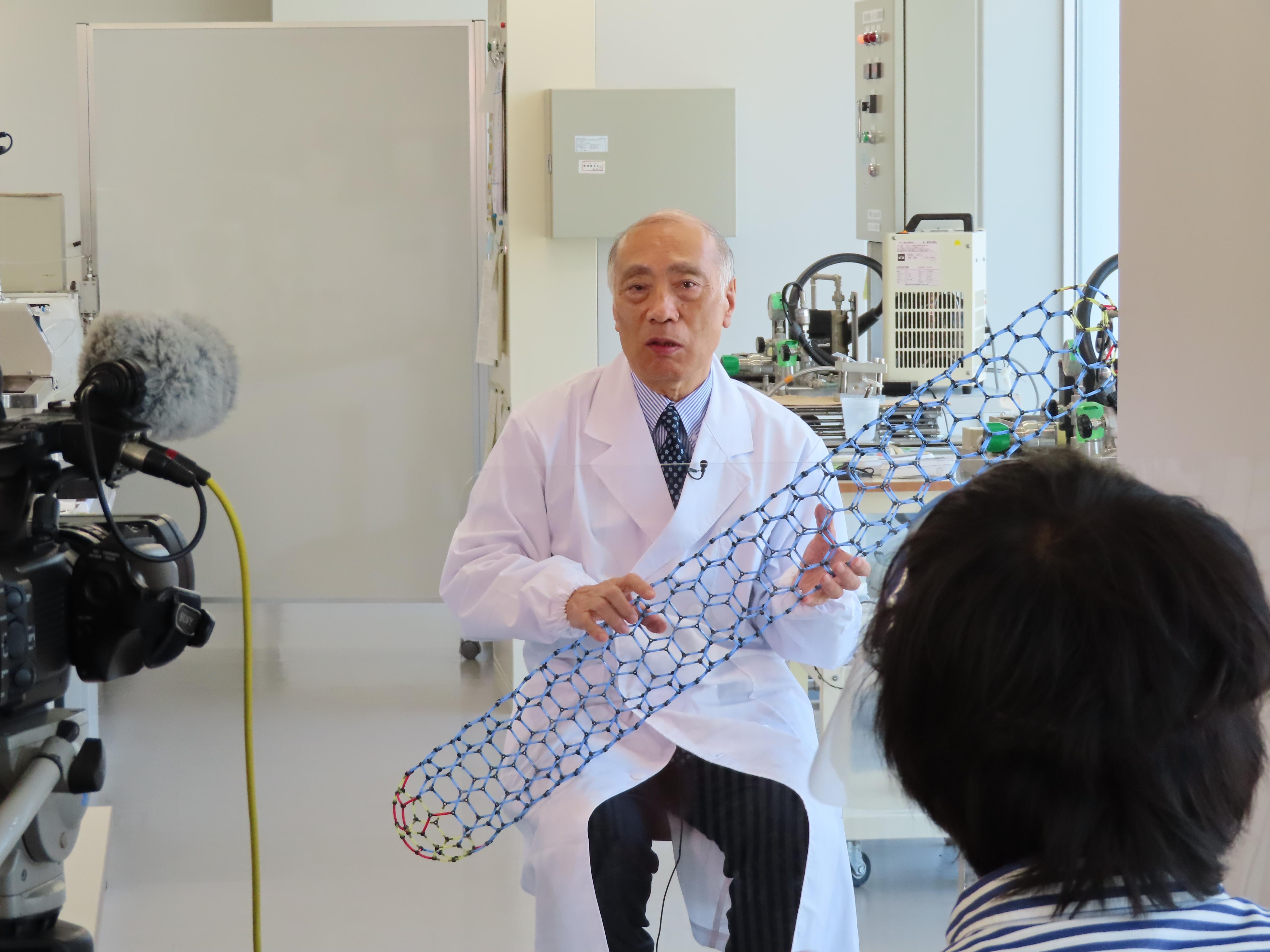 《メディア掲載》BSフジ「ガリレオX」でナノカーボンRO膜が取り上げられます