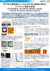 原子間力顕微鏡法による水浄化用分離膜の物性とファウラント吸着の評価