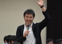 大﨑章弘氏<br>(日本科学未来館 科学コミュニケーター)