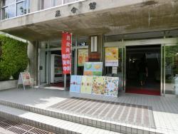 生協入り口にポスター等を展示(長野(教育)キャンパス)
