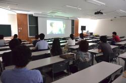 長野(教育)キャンパスでの上映会の様子