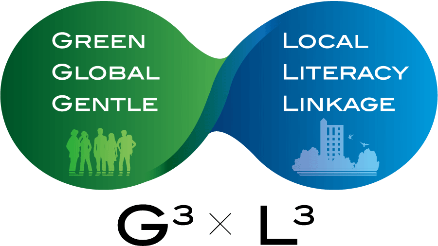 GREEN GLOBAL GENTLE (G3) × LOCAL LITERACY LINKAGE (L3)