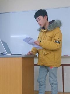 四川農業大学大学院生 杜さんの研究報告