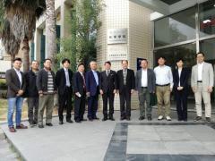 福州大学生物科学・バイオテクノロジー学部と信州大学農学部との協議メンバー記念写真