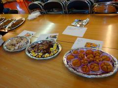 留学生手作りの母国料理