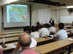 小泉東京農業大学名誉教授による基調講演