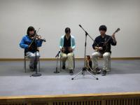 ケルト音楽研究会による演奏が行われました