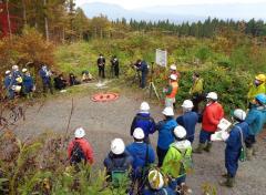 スギ造林地でのドローン計測と技術公開