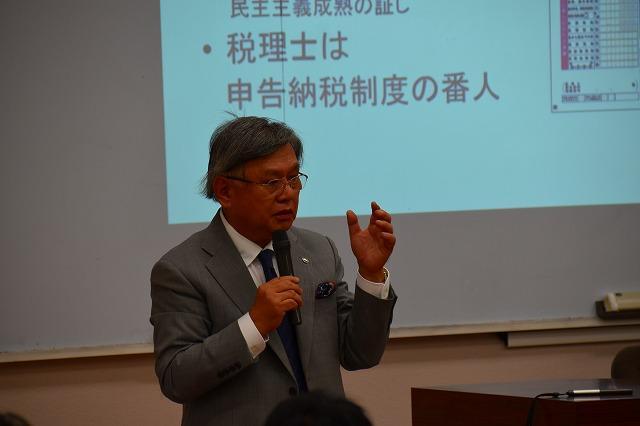 日本税理士会連合会 神津会長