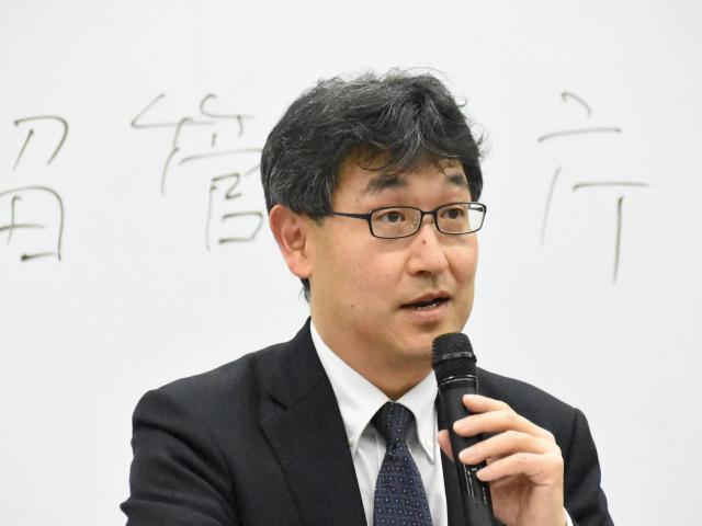 法務省民事局 堂薗幹一郎氏