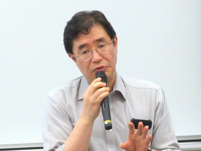 文部科学省大臣官房審議官(高等教育局担当)の松尾泰樹氏