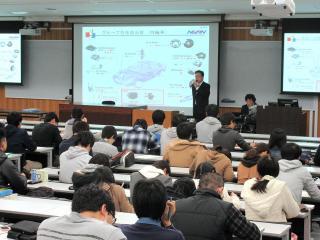 H28経営者と企業_日信工業_講義風景