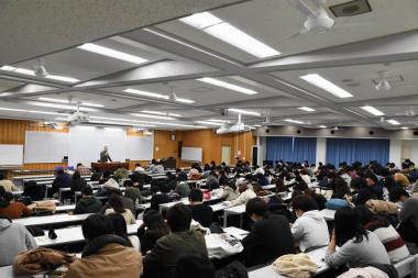 筒井先生の講義