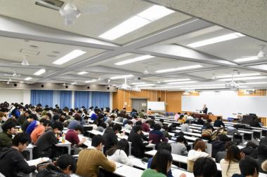 徳住先生の講義