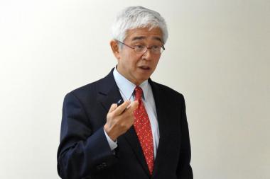 山田辰己先生