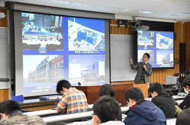 法務省法務総合研究所国際協力事務部門伊藤淳氏の講義