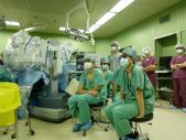 <泌尿器科>ロボット支援手術を立体映像で見学