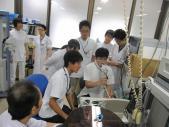 <呼吸器内科>肺機能検査の体験実習