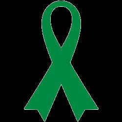 グリーンリボンは世界的な移植医療のシンボル.JPG