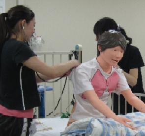 看護方法論Ⅲ:ヘルスアセスメント演習.JPG