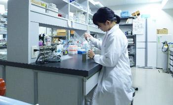 実験室でのオキシトシン濃度測定の様子.JPG