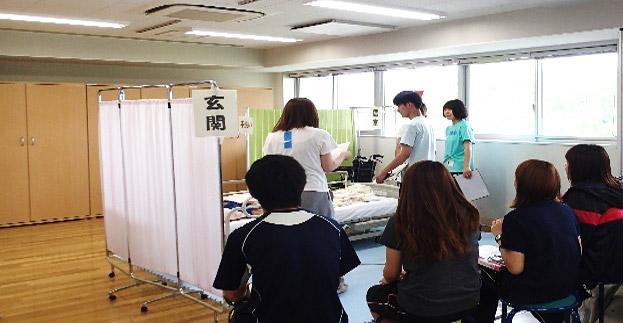 実習前の模擬訪問看護演習;ロールプレイ.JPG