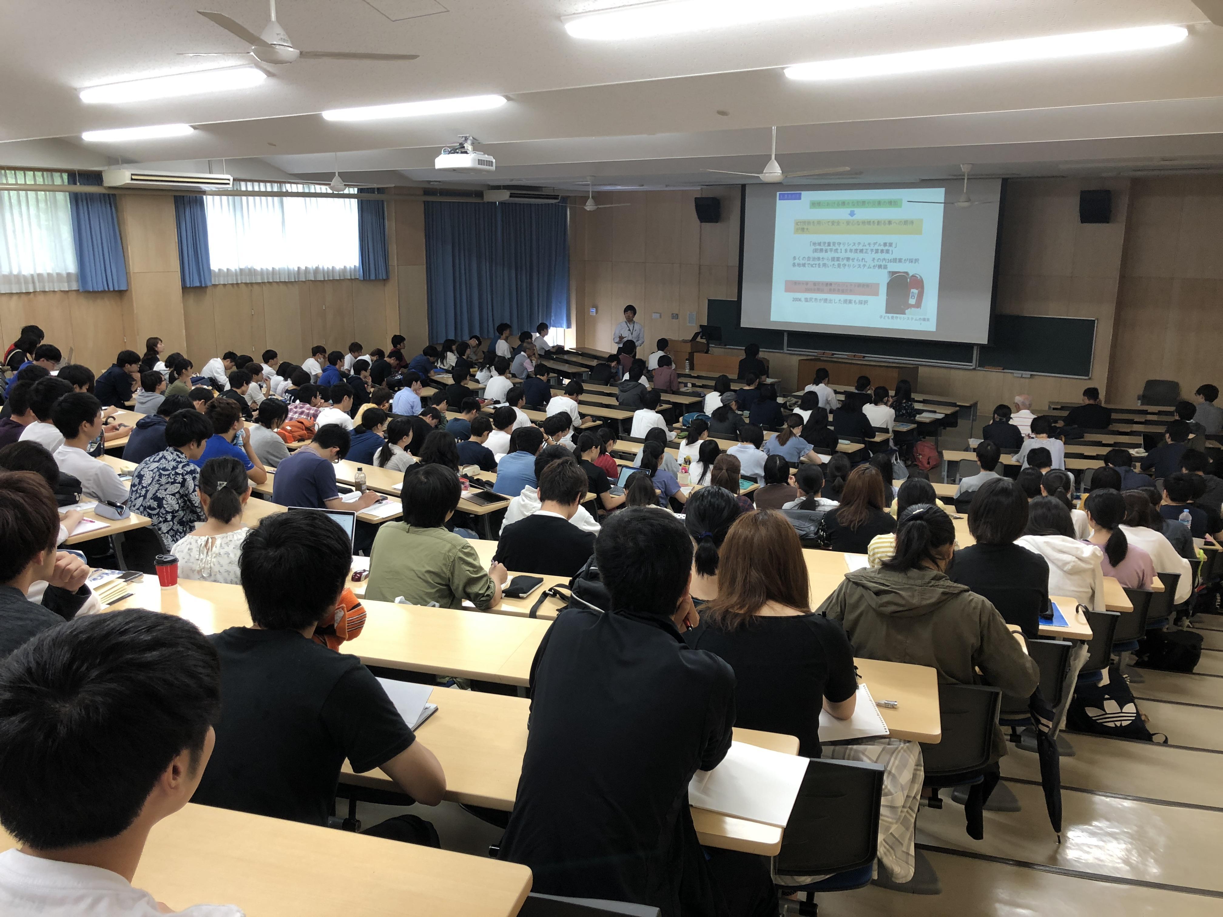 【活動報告】信州大学 一年生向け共通教育授業科目「明日を生きるための心理学 リスク社会と防災を学ぶ」
