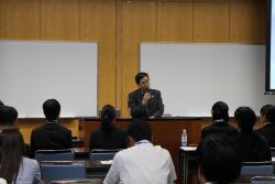 来賓挨拶 文部科学省 大臣官房(高等教育局)審議官 松尾 泰樹 氏