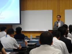 開会挨拶:濱田州博信州大学長