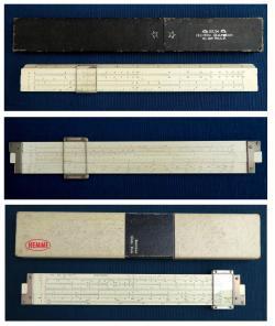 計算尺(ヘンミ計算尺)