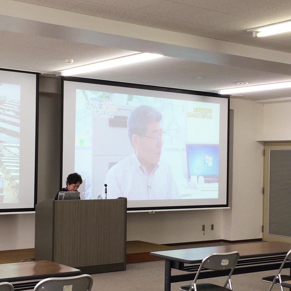 アイキャッチ画像:【報告】H28放送公開講座が科学技術政策特論で取り上げられました!