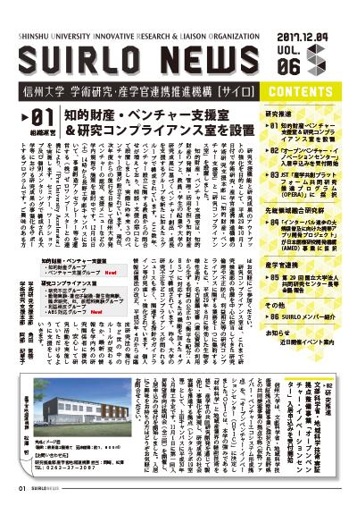 アイキャッチ画像:SUIRLO NEWS【vol.6】