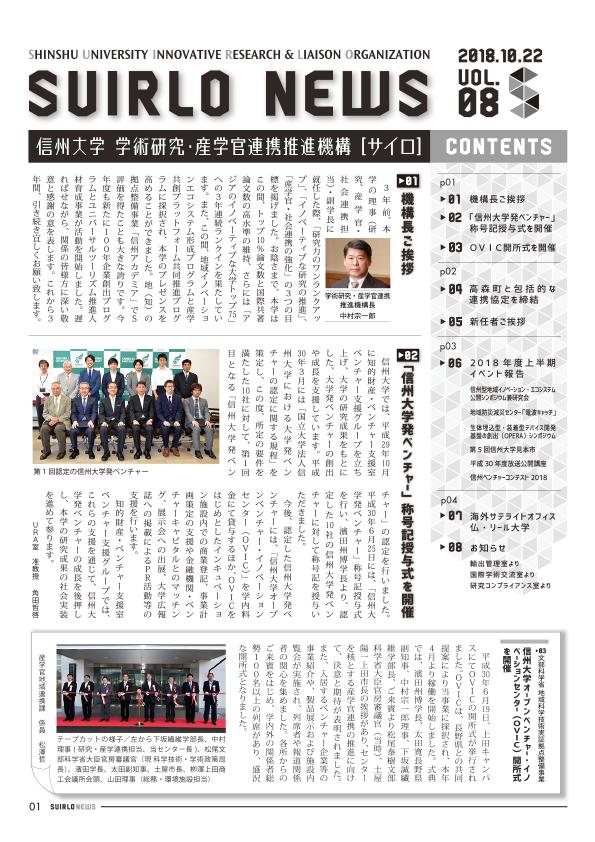 アイキャッチ画像:SUIRLO NEWS【vol.8】