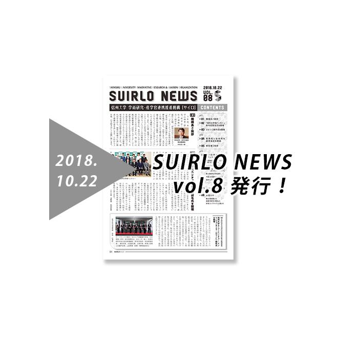 アイキャッチ画像:【発行】SUIRLO NEWS vol.8