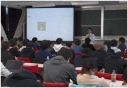 平成30年11月15日、平成30年度大学院共通科目「科学技術政策特論」に理研から講師をお招きしました。イメージ03