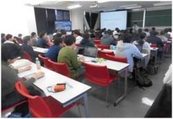 平成30年11月15日、平成30年度大学院共通科目「科学技術政策特論」に理研から講師をお招きしました。イメージ02
