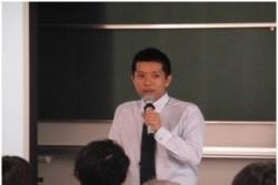 平成30年11月15日、平成30年度大学院共通科目「科学技術政策特論」に理研から講師をお招きしました。イメージ01
