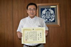 Professor Sugimoto, Deputy Director of X-Breed, was Commended by the JSPS