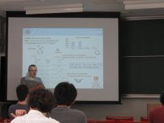 P.Simon特別招へい教授による特別講演を行いました