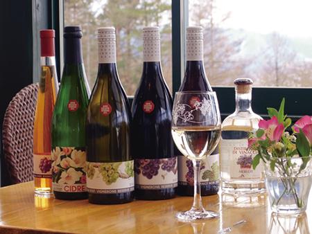 生産されたワイン